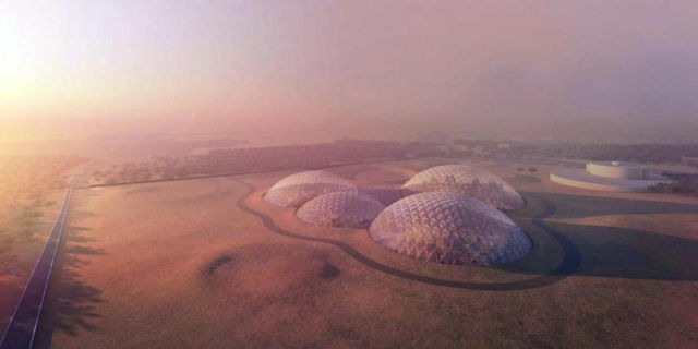 Dubai is building a giant Mars city simulation (1)