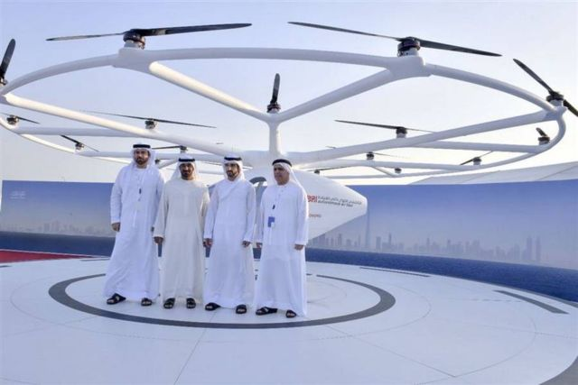 Dubai starts testing Volocopter Flying Taxi (4)