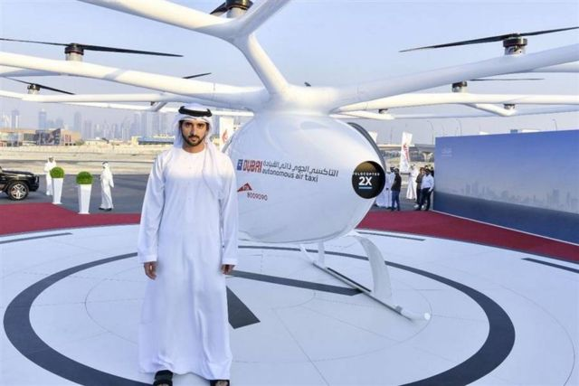 Dubai starts testing Volocopter Flying Taxi (2)