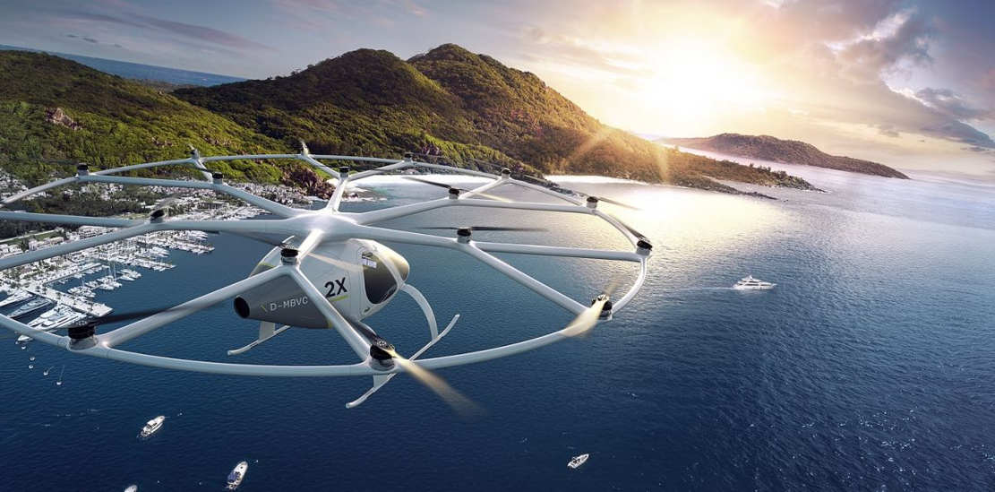Dubai starts testing Volocopter Flying Taxi (1)