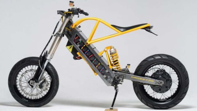 ExoDyne Electric Motorcycle