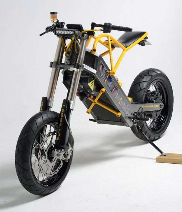 ExoDyne Electric Motorcycle (1)