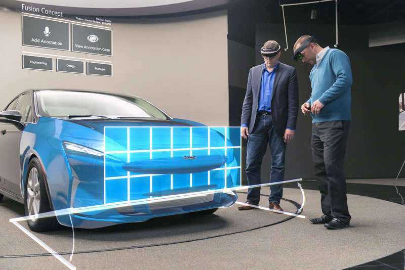 HoloLens is helping Ford designers