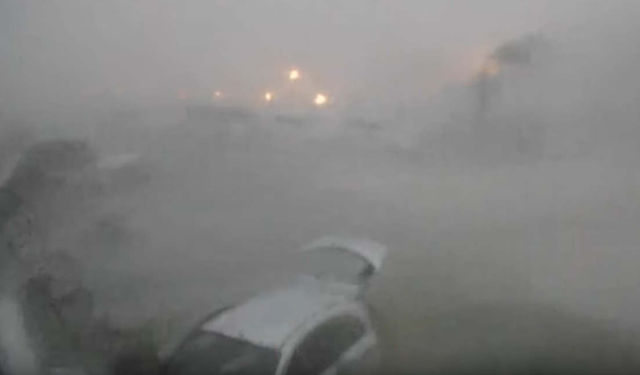 Horrific video of Hurricane Irma at 185 MPH Winds