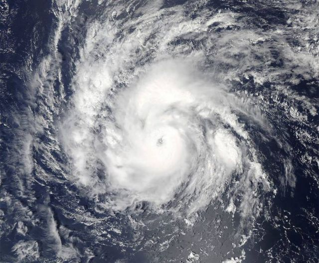 Hurricane Irma- from space