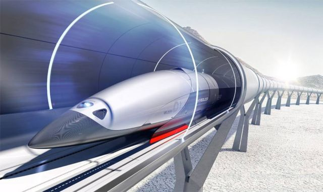 Hyperloop concept designed by Priestmangoode