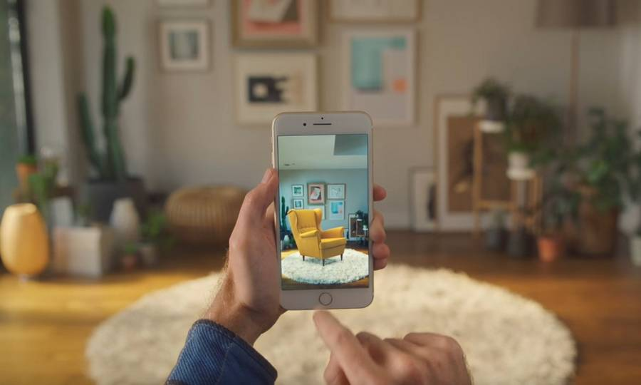 IKEA Place 3D - true to-scale App