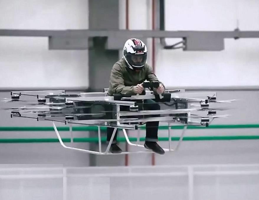 Kalashnikov manned flying device