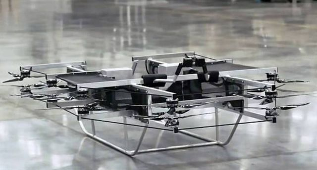 Kalashnikov manned flying device