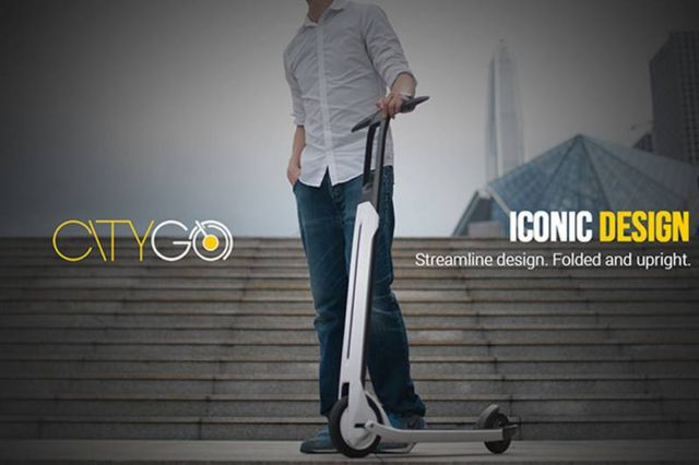 Last Mile- electric scooter by Segway (3)