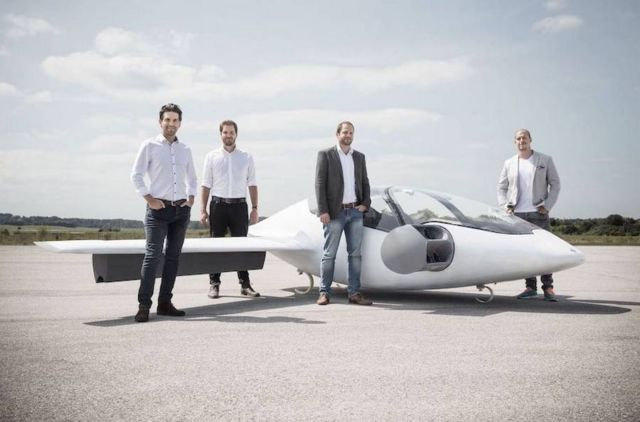 Lilium Electric Flying Taxi (2)