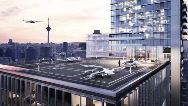 Lilium Electric Flying Taxi (1)