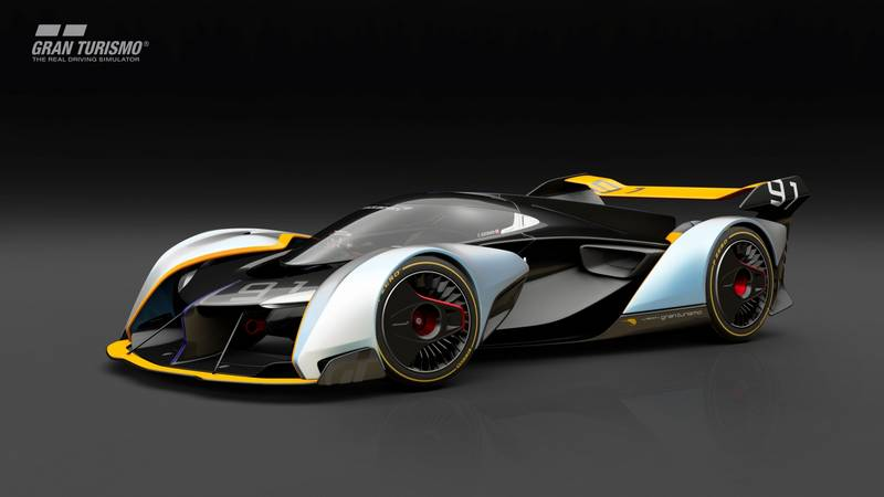 McLaren Ultimate Vision Gran Turismo car