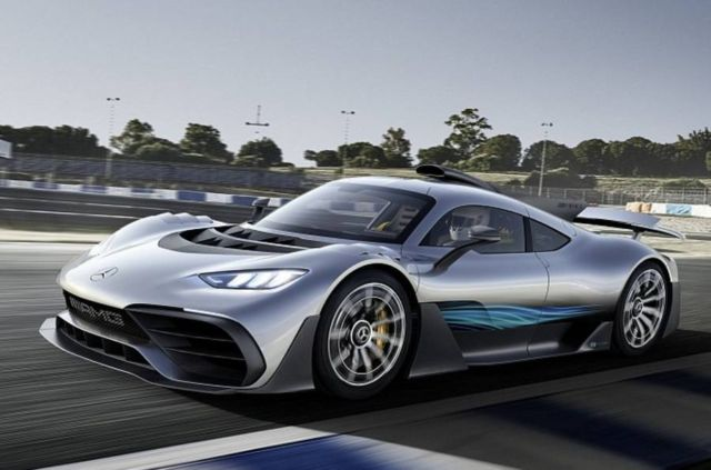 Mercedes-AMG Project ONE hybrid hypercar