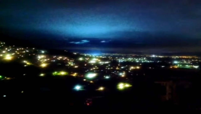 Mexico Earthquake Lights Up The Sky