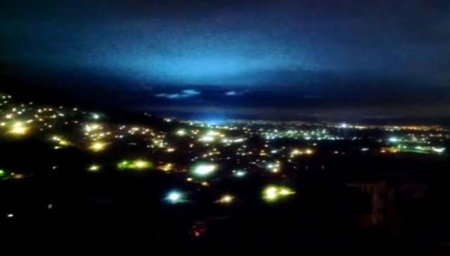 Mexico Earthquake Lights Up The Sky