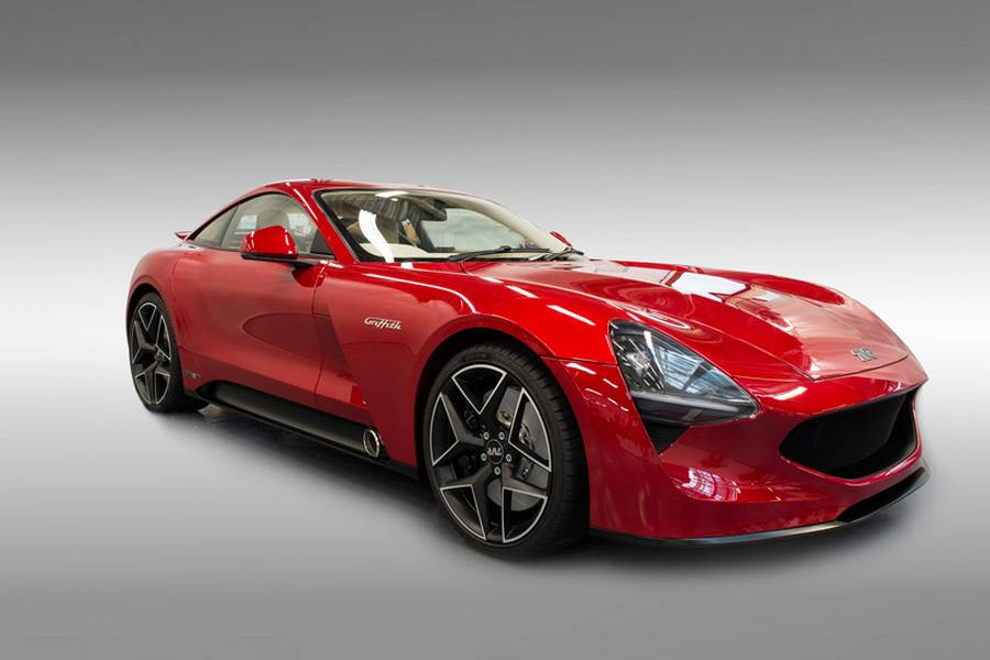 new 200mph tvr griffith revealed wordlesstech. Black Bedroom Furniture Sets. Home Design Ideas
