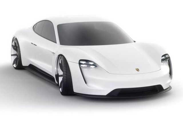 All-electric four-door Porsche Mission E