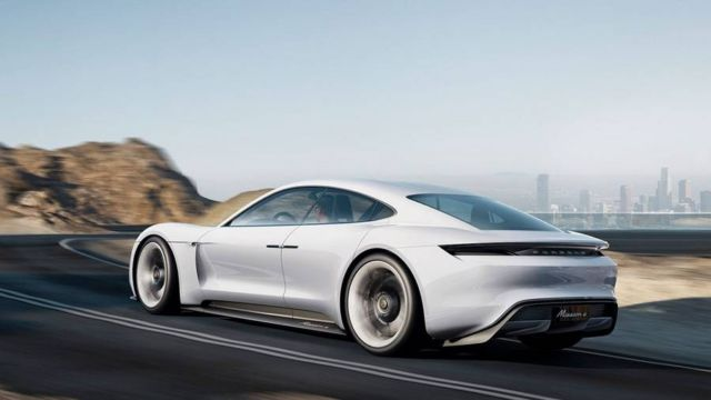 All-electric four-door Porsche Mission E (6)