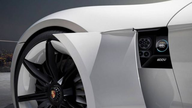 All-electric four-door Porsche Mission E (5)