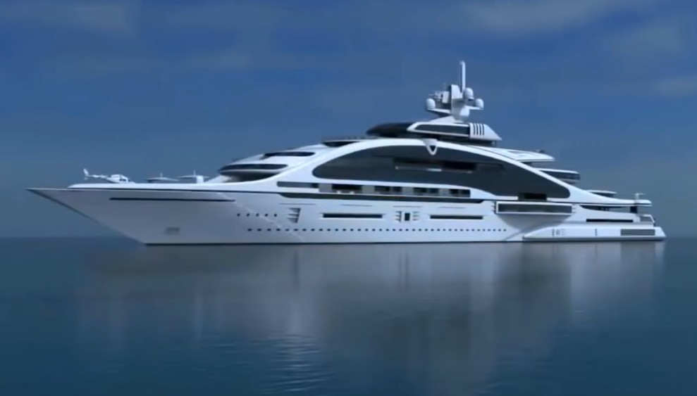 Prelude the greatest luxury yacht ever designed