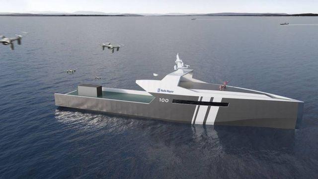 Rolls-Royce autonomous Patrol Ship