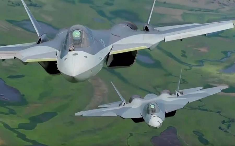 Russia's new Su-57 Stealth Fighter