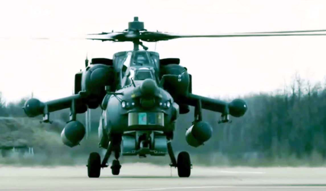 Russia's New High-Speed Military Helicopter