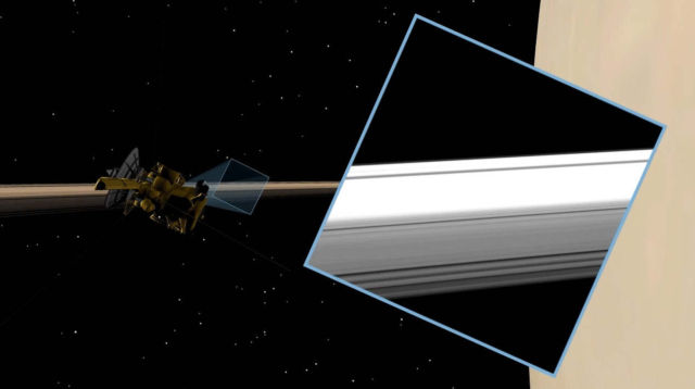 Saturn's Rings from the Inside Out