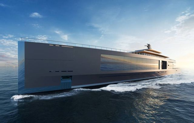 Sinot 120 meter-long 'Nature' superyacht
