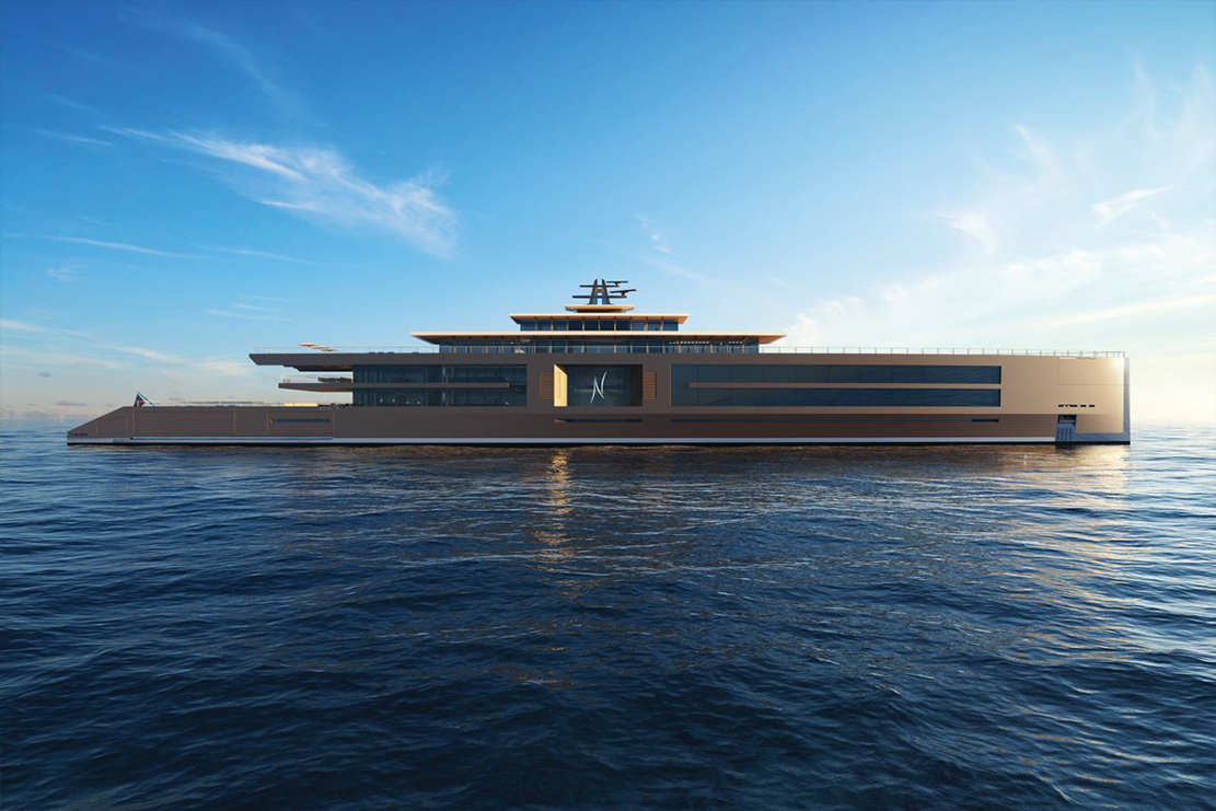 Sinot 120 meter-long 'Nature' superyacht (1)