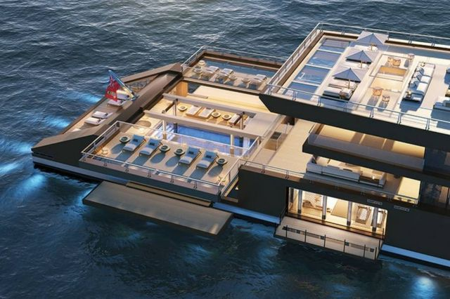 Sinot 120 meter-long 'Nature' superyacht (16)