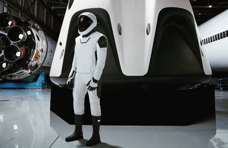 SpaceX's Ultra-Sleek New Spacesuit