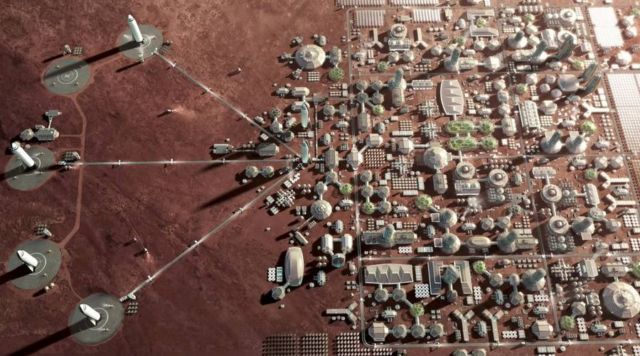 SpaceX Plans to Begin Mars Colonization by 2022