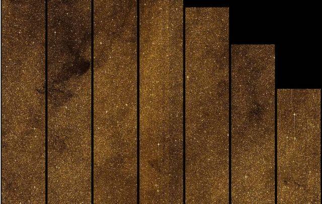 2.8 million stars image near the Galactic center