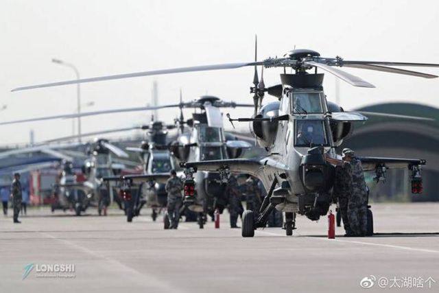 The new Chinese helicopters (2)