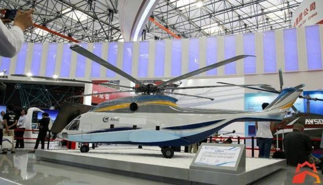 The new Chinese helicopters (1)