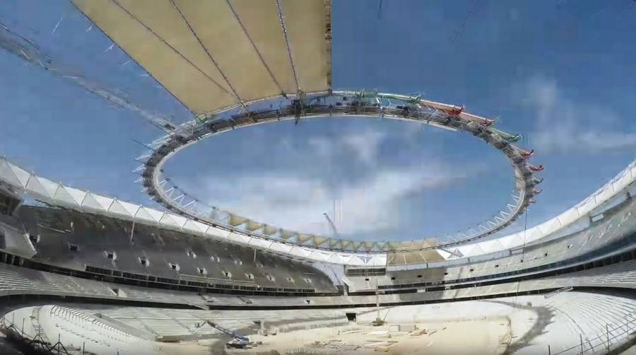 Wanda Metropolitano football Stadium - cover timelapse