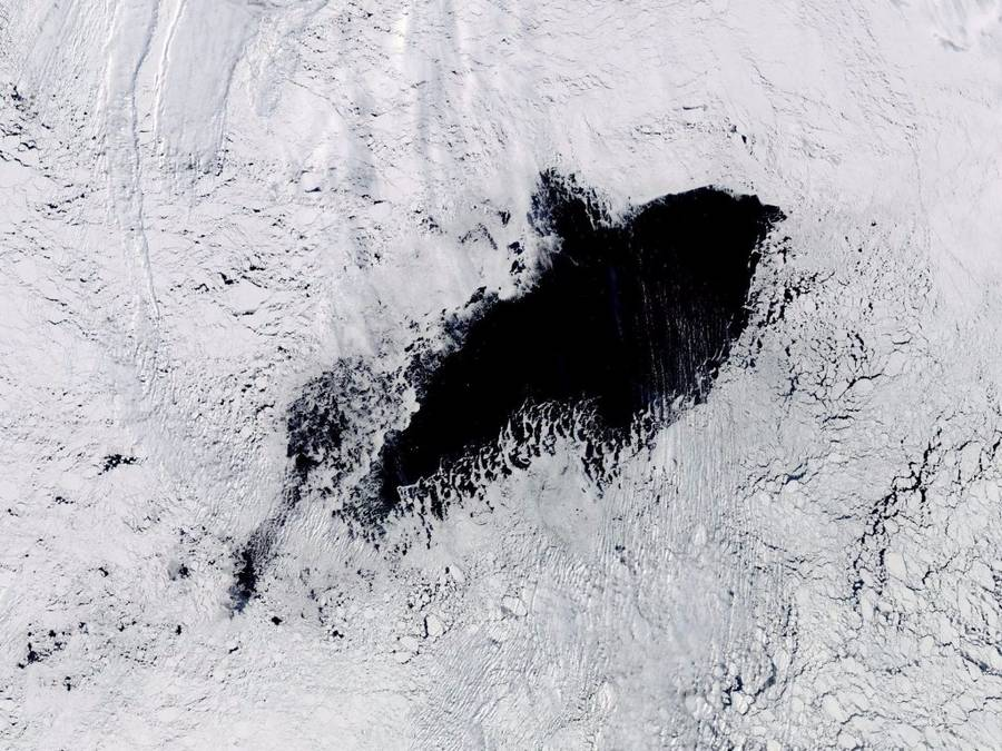 A Huge Hole Has Opened In Antarctica