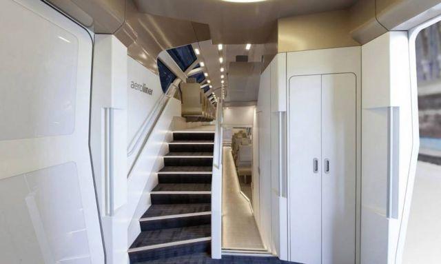 AeroLiner3000 double-decker high-speed train (6)