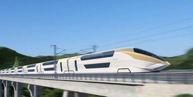 AeroLiner3000 double-decker high-speed train (5)