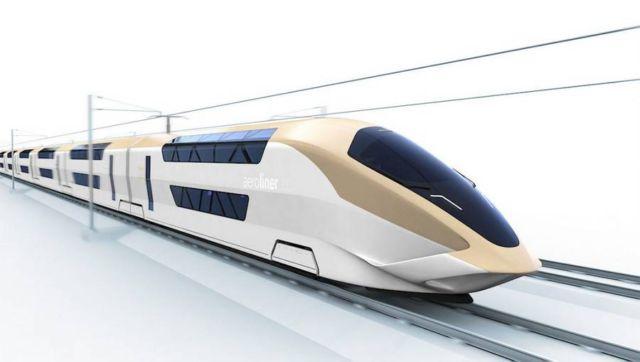 AeroLiner3000 double-decker high-speed train (4)