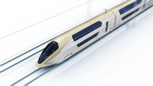 AeroLiner3000 double-decker high-speed train (3)