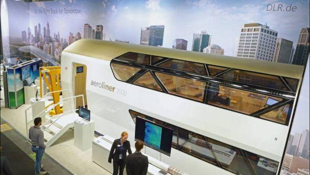 AeroLiner3000 double-decker high-speed train (1)