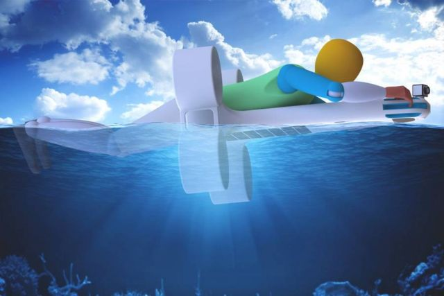 Amphibious Joint-lifeguard UAV (3)