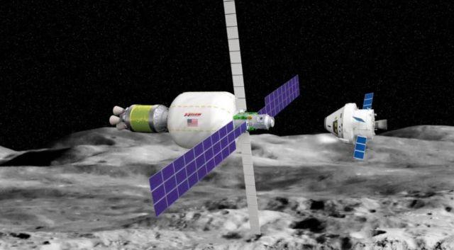 An Inflatable Habitat for Lunar orbit