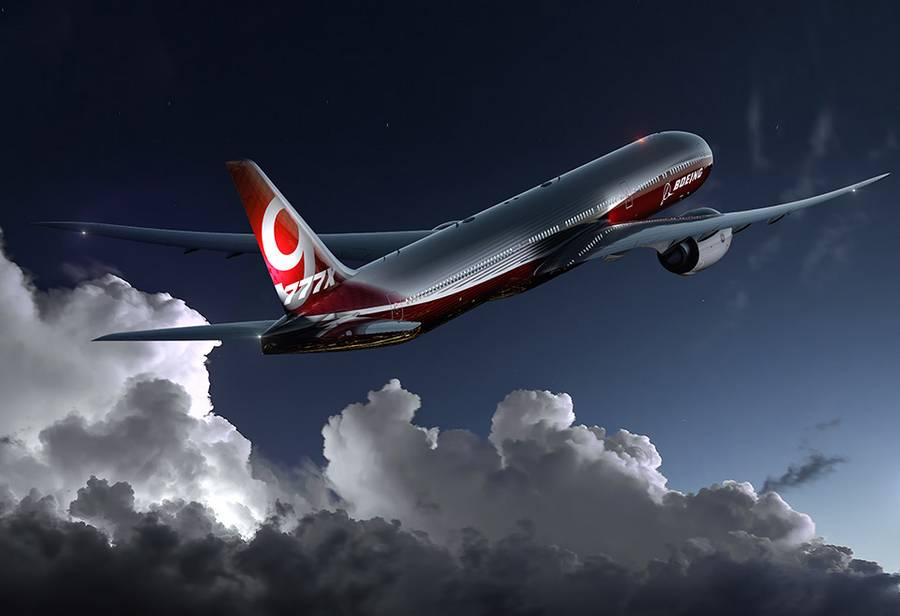 Boeing starts 777x production (4)
