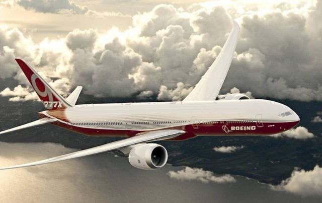 Boeing starts 777x production (3)