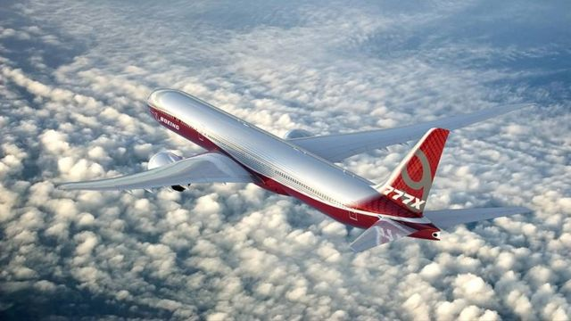 Boeing starts 777x production (2)