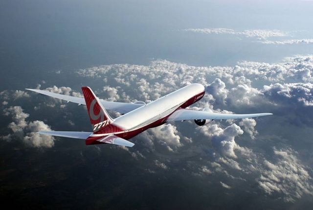 Boeing starts 777x production (1)